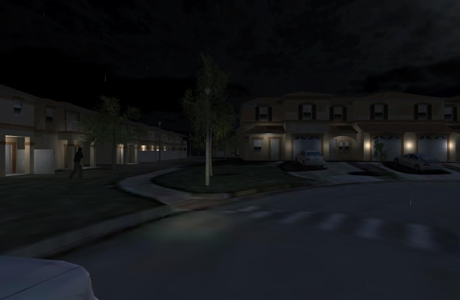 dark neighborhood